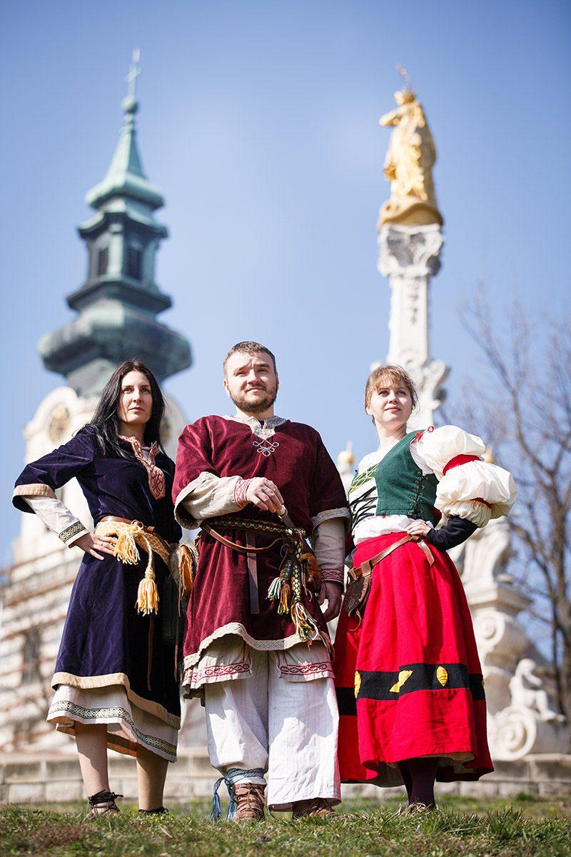 Stredoveké leto na Nitrianskom hrade. Foto: OOCR