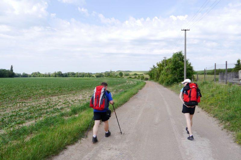 Posledný úsek slovenského Camino vedie z Trnavy do Bratislavy.