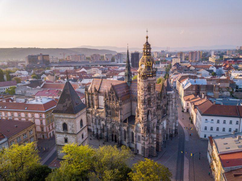 Dóm svätej Alžbety v Košiciach. Foto: Shutterstock