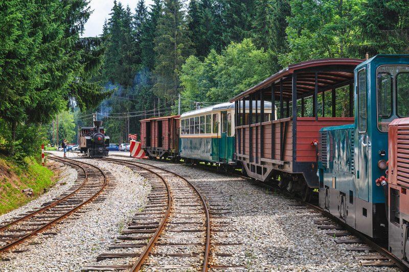 Oravská lesná železnica. Foto: Shutterstock