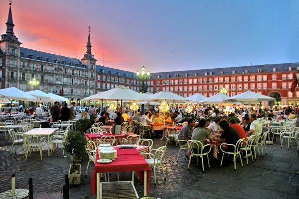 Nočný život v Madride. Foto: Shutterstock