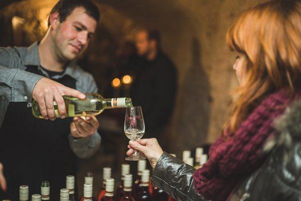 Ochutnávka v Nitrianskych vínnych pivniciach. Foto: OOCR