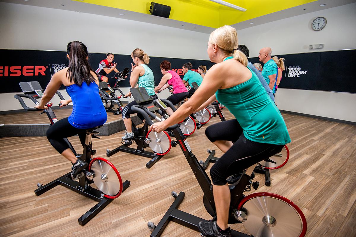 Veľká sieť LA Fitness, ktorá tieto bicykle používa už približne 10 rokov a do údržby dáva iba pár dolárov.