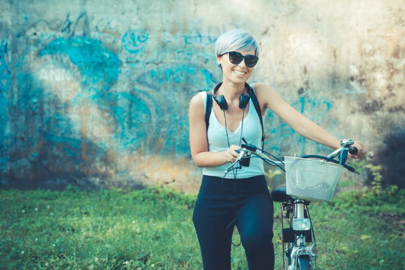 Ak budete jazdiť bicyklom do práce a nezmeníte nič iné, budete o 6 kíl ľahší. Foto: Shutterstock