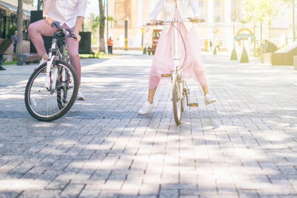 fef34871c0196 Cvičíme na bicykli cestou do práce