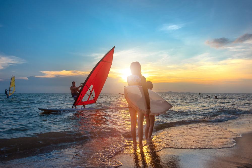 Windsurfing. Foto: Shutterstock