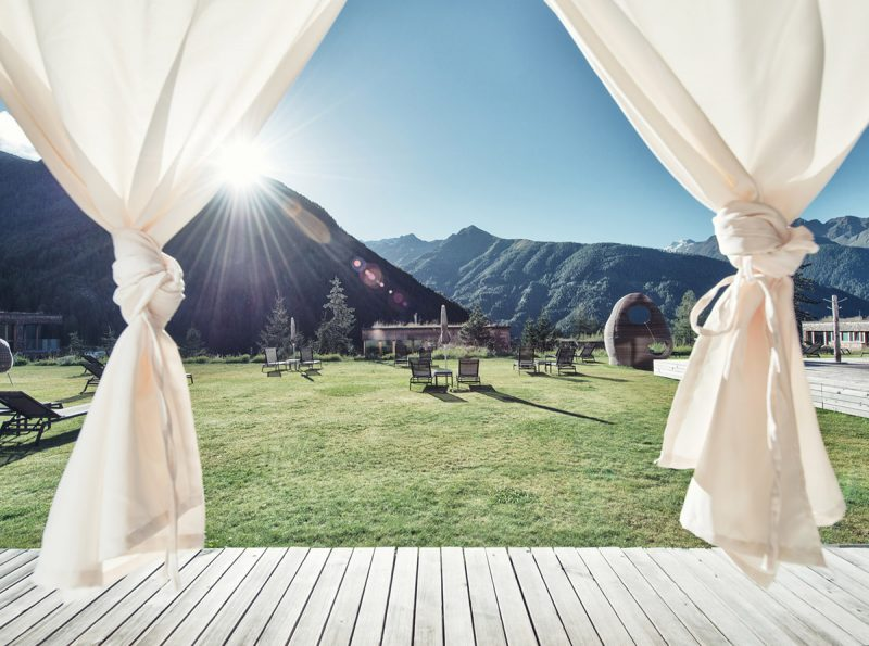 Hotel a hotelové chatky Gradonnas Mountain Resort. Foto: Schultz Gruppe