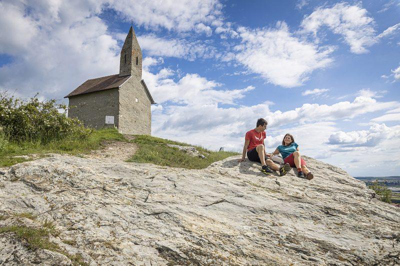 Dražovskýkostolík svätého Michala archanjela je najstarší románsky kostolíkna Slovensku. Foto: Miro Pochyba