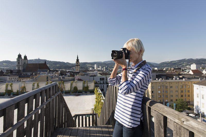Linz z výšky. ©Linz Tourismus, Robert Josipovic