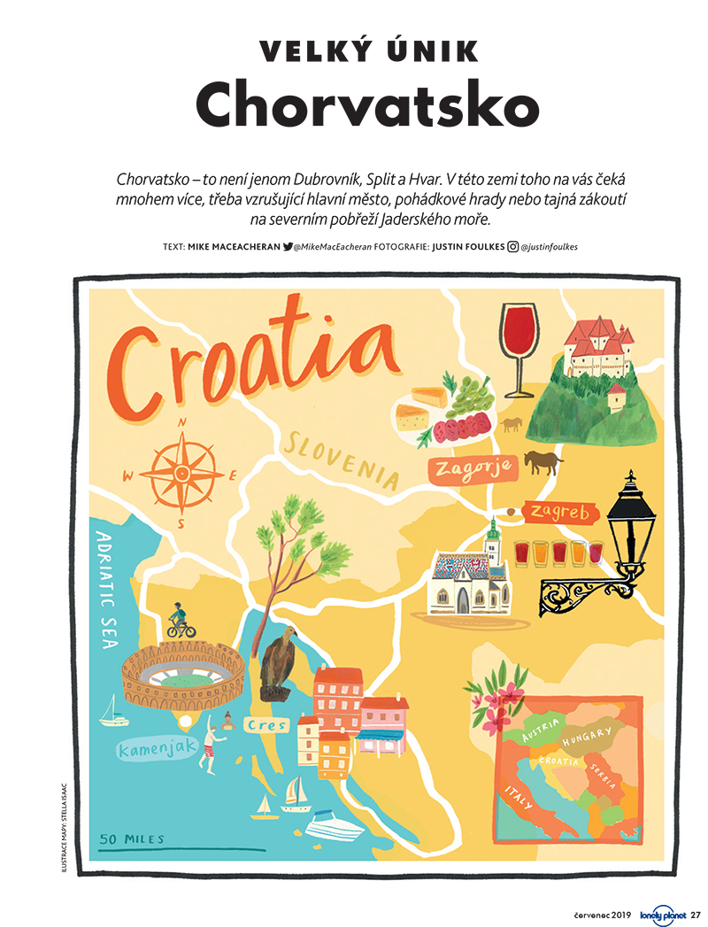 Lonely Planet Chorvátsko