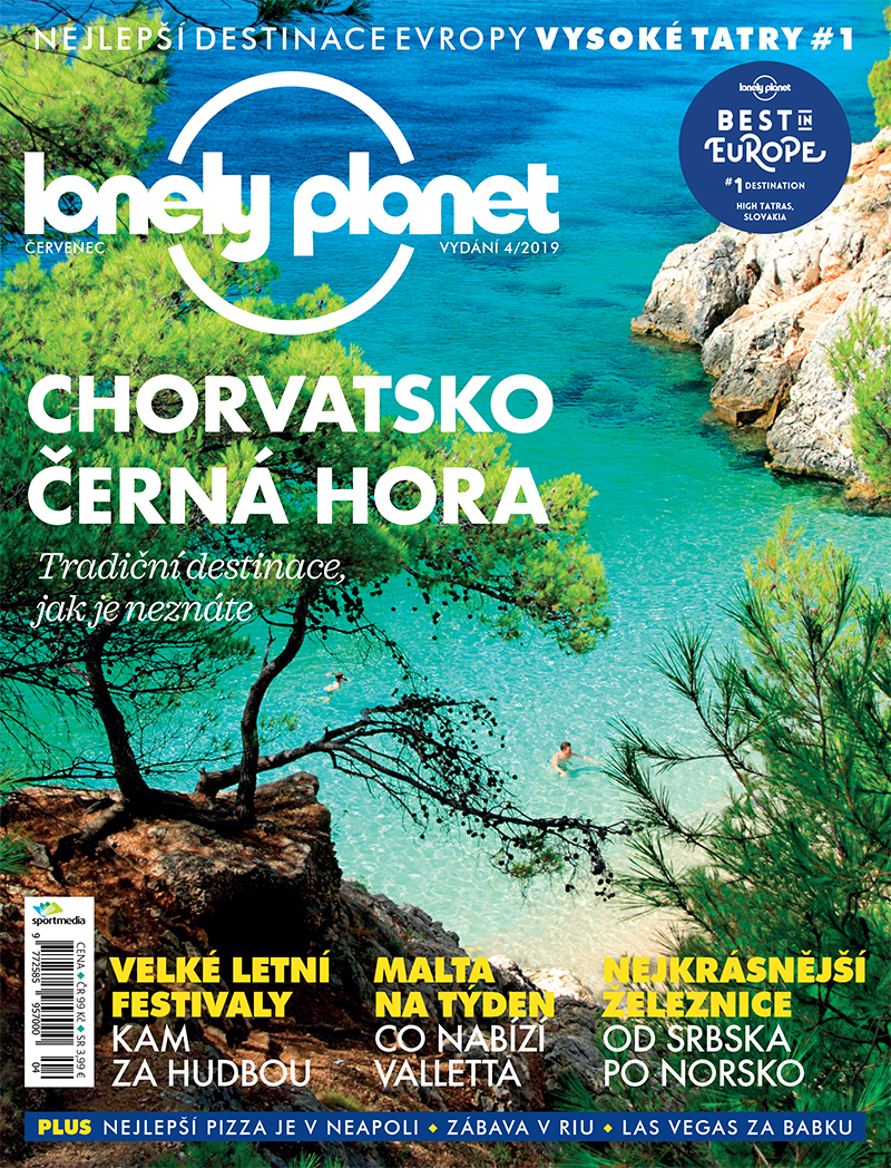 Lonely Planet 4/19