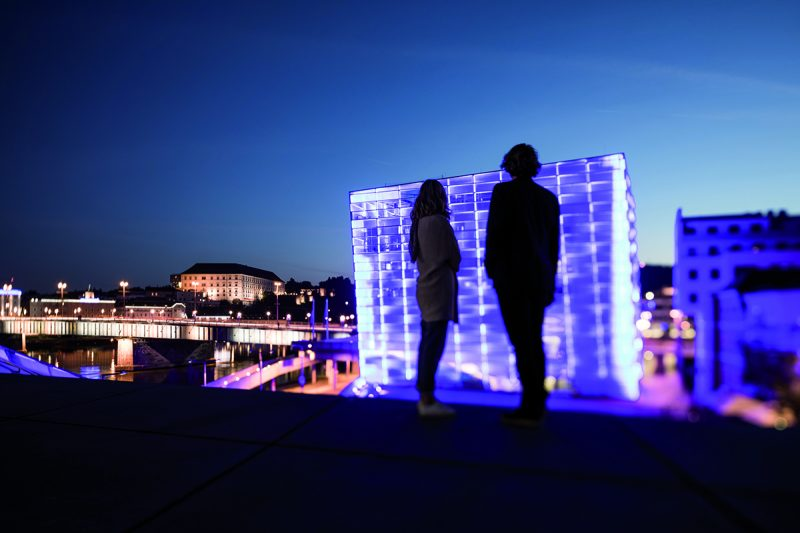 Ars Electronica. Foto: ©OÖ Tourismus, Robert Maybach
