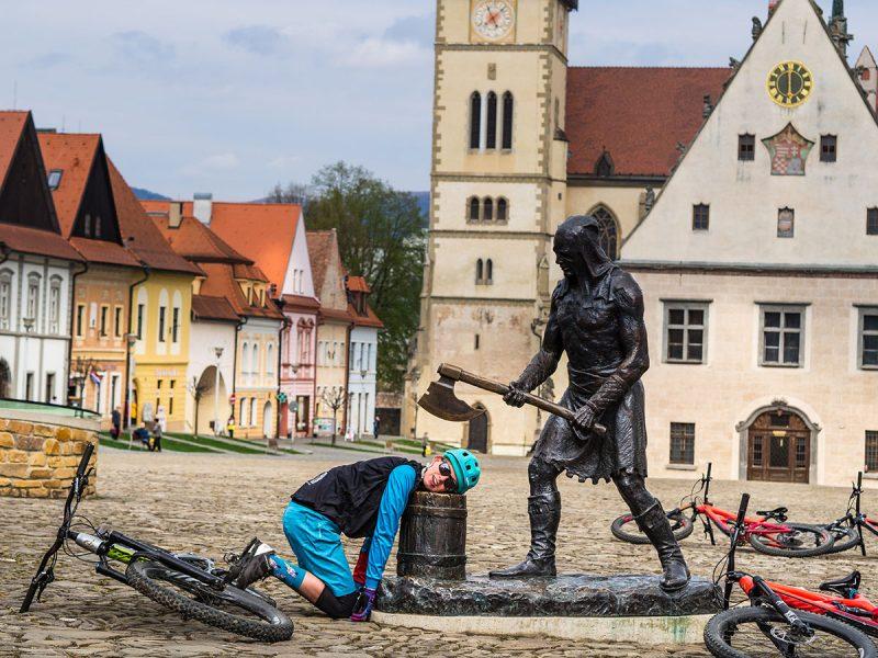 Bardejov je od roku2000 zapísané do Zoznamu svetového kultúrnehoa prírodného dedičstva UNESCO. Foto: Ján Tekeľ