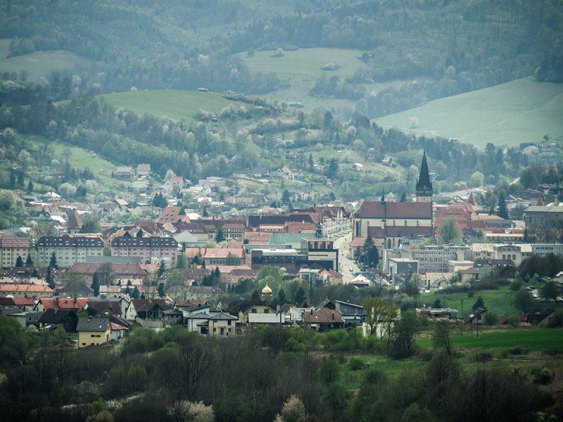 Výhľad na Bardejov. Foto: Ján Tekeľ