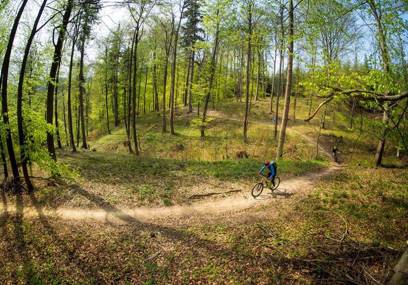V okolí Bardejova je množstvo krásnych cyklotrás. Foto: Ján Tekeľ