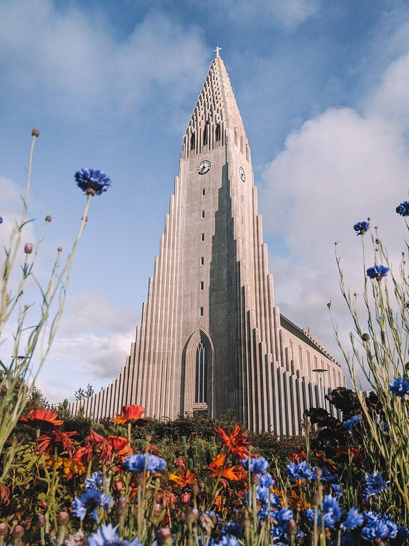 Kostol v Reykjaviku na Islande. Foto: Zuzana Habekova