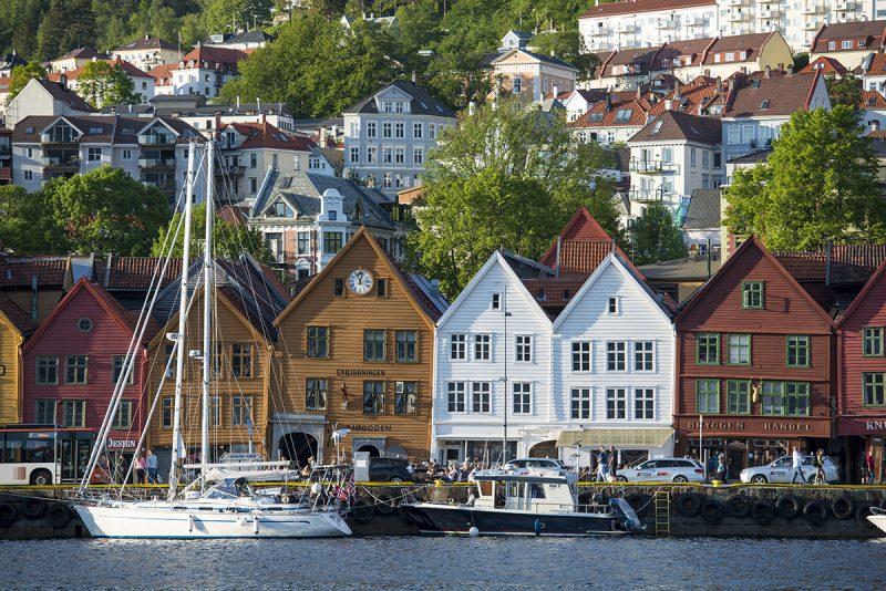 Bergen, Nórsko. Foto: Robert Taraba