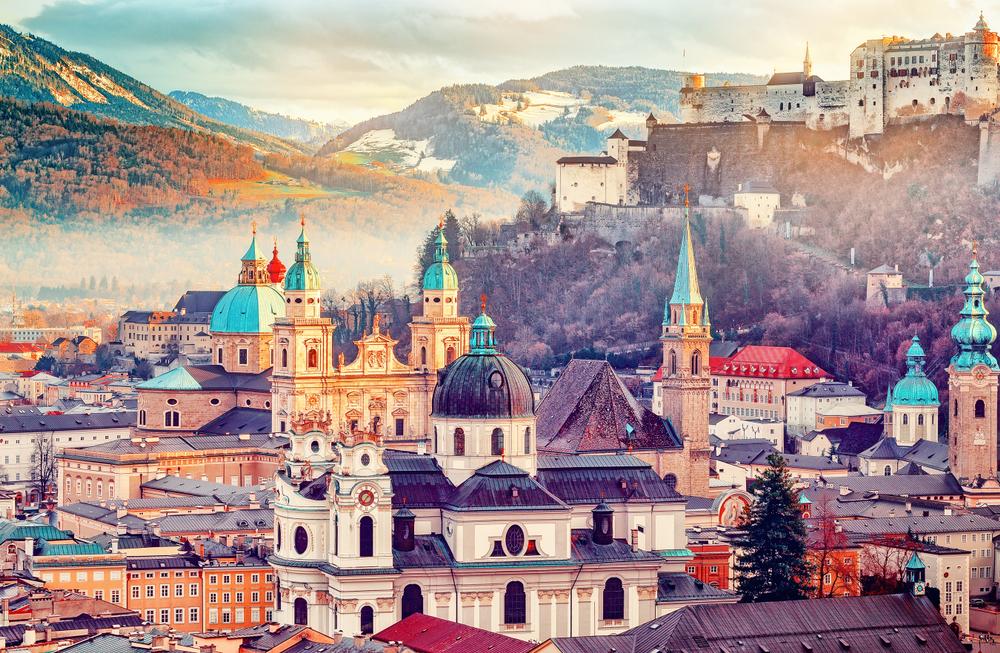 Salzburg. Foto: Shutterstock