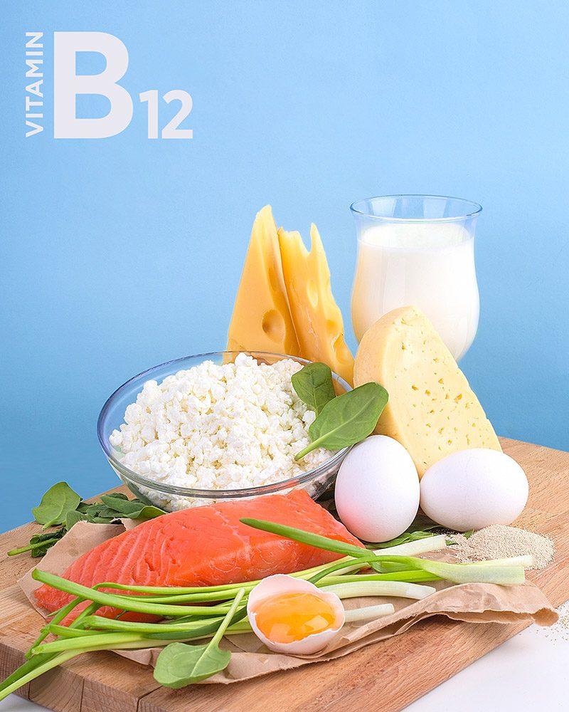 Vitamín B12. Foto. Shutterstock