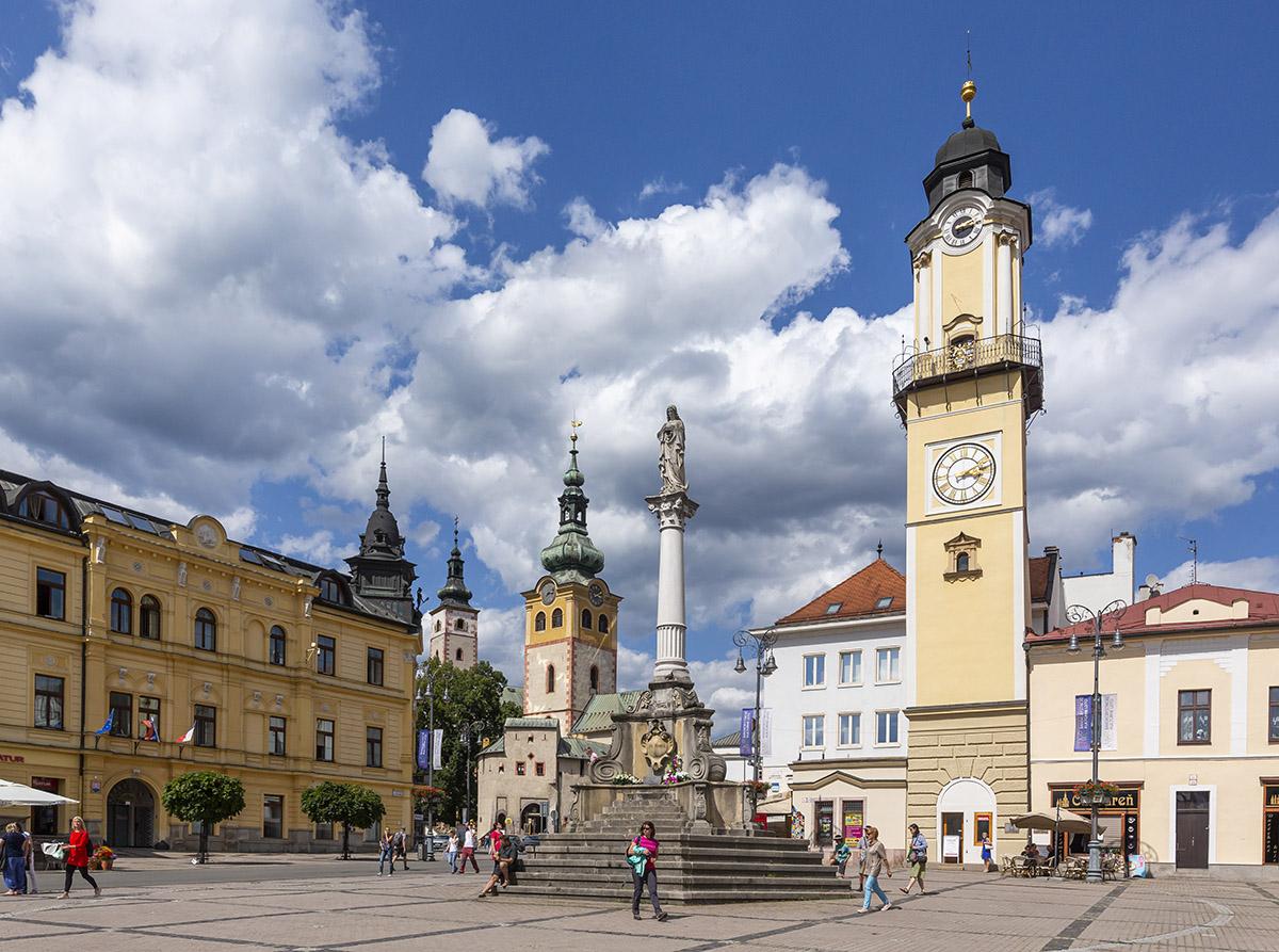 Banská Bystrica. Foto: Miro Pochyba