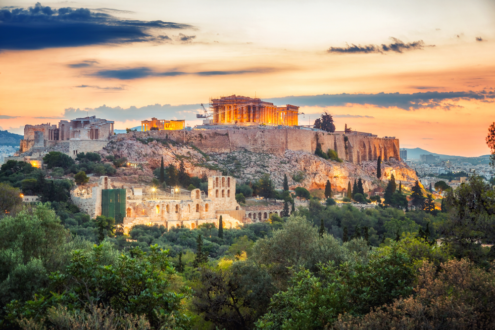 Hlavné mesto Grécko. Foto: Shutterstock