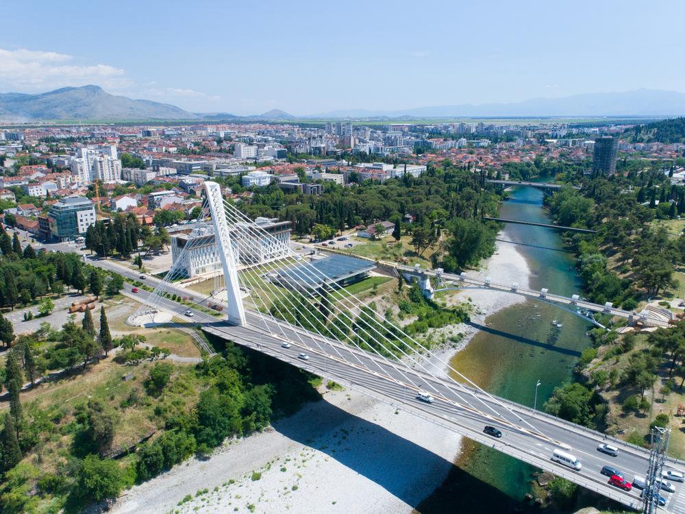 Hlavné mesto Čiernej hory. Foto: Shutterstock