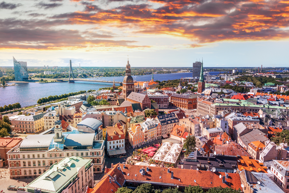 Hlavné mesto Lotyšska. Foto: Shutterstock