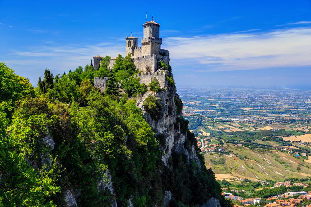 Hlavné mesto San Marína. Foto: Shutterstock
