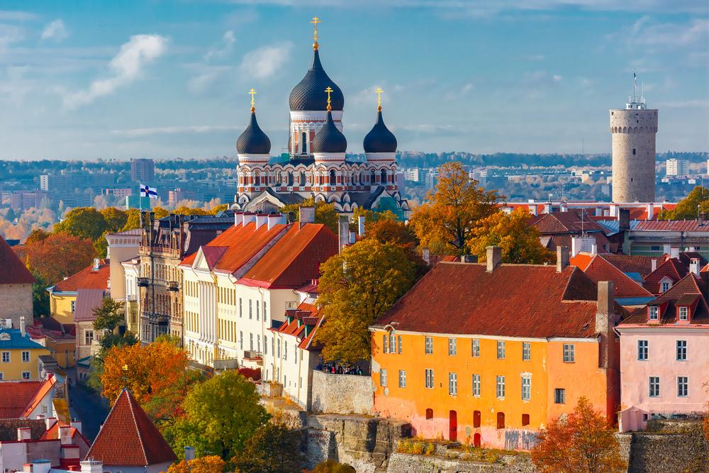 Hlavné mesto Estónska. Foto: Shutterstock