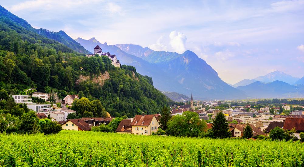 Hlavné mesto Lichtenštajnska. Foto: Shutterstock