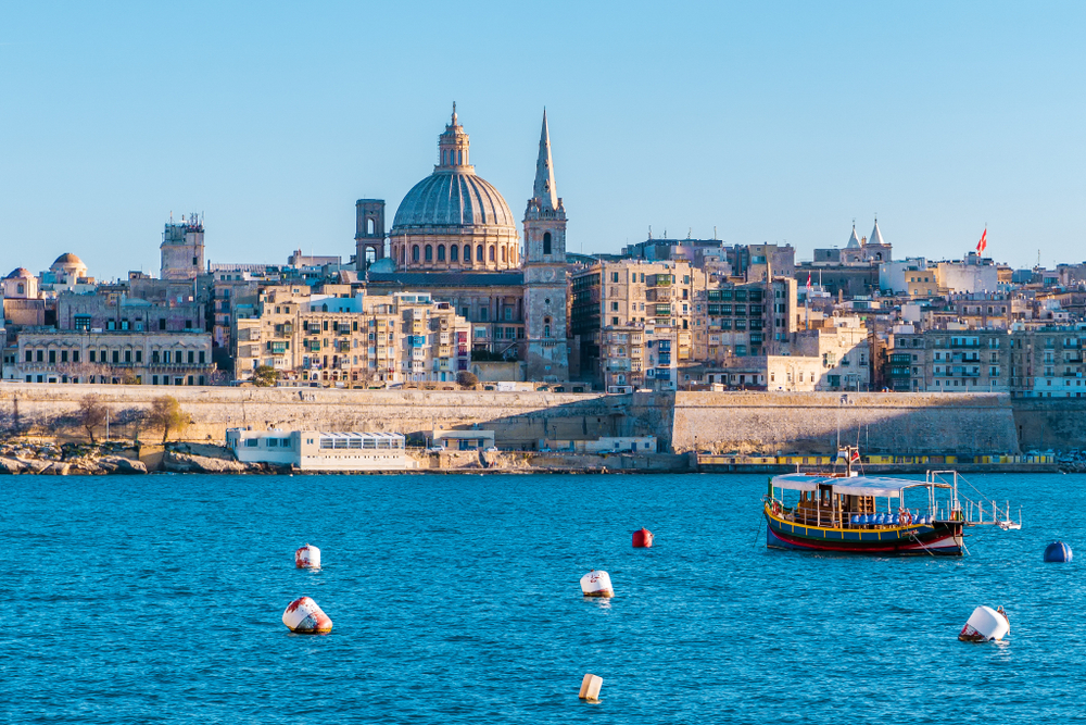 Hlavné mesto Malty. Foto: Shutterstock