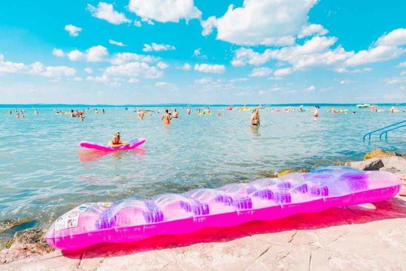 Maďarské more - Balaton. Foto: Shutterstock
