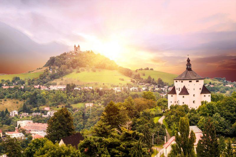 Výhľad na Frauenberg a kalváriu. Foto: Shutterstock