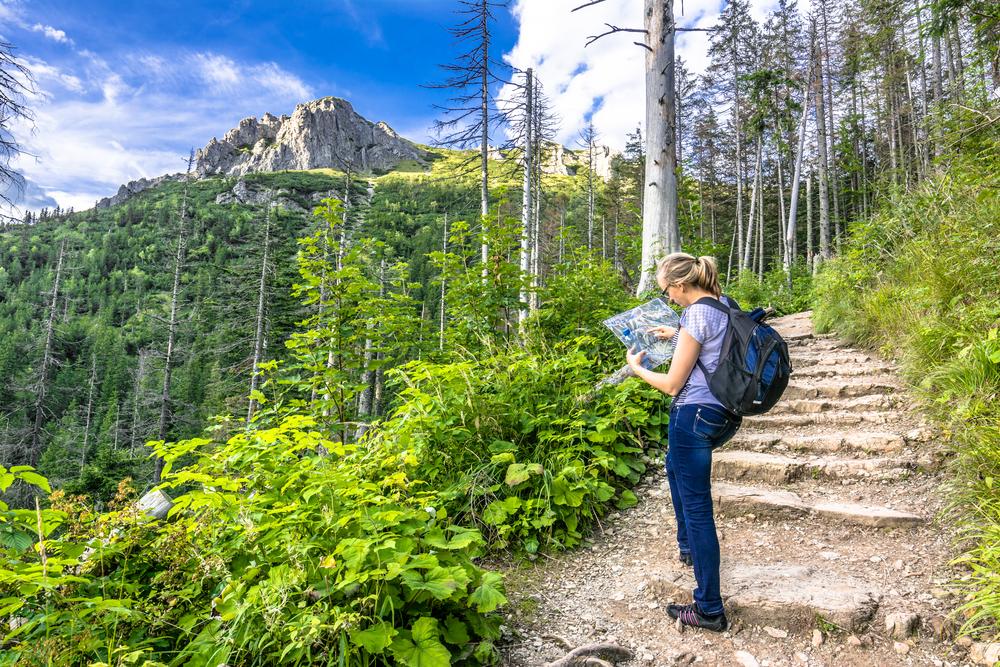 Turistické trasy. Foto: Shutterstock