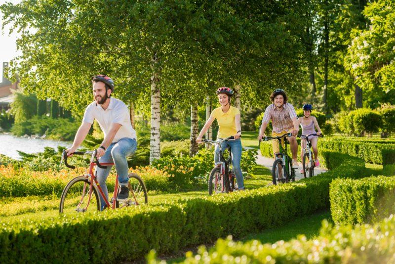Bicyklovanie je vhodné skoro pre každého. Foto: Shutterstock