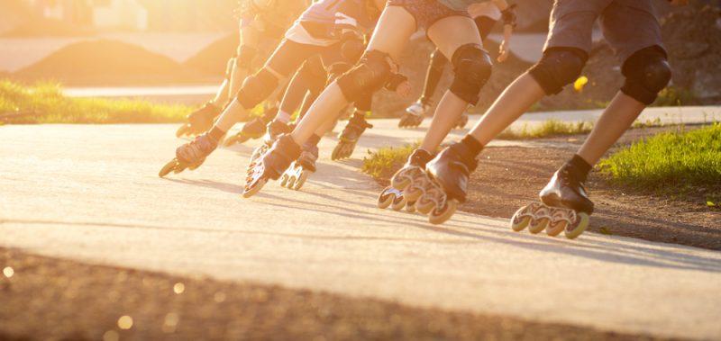 S pretekárskymi korčuľami radšej počkajte, kým sa naučíte korčuľovať. Foto: Shutterstock