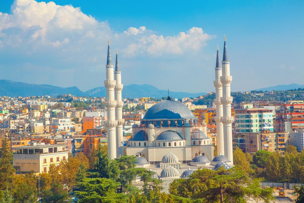 Hlavné mesto Albánska. Foto: Shutterstock