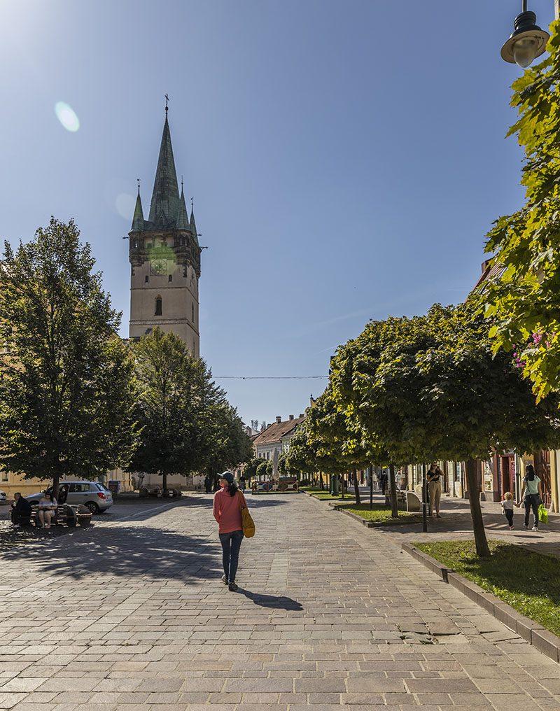 Zelené námestie Prešova. Foto: Miro Pochyba