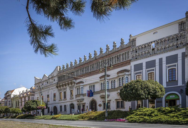 Rákócziho palác v Prešove. Foto: Miro Pochyba