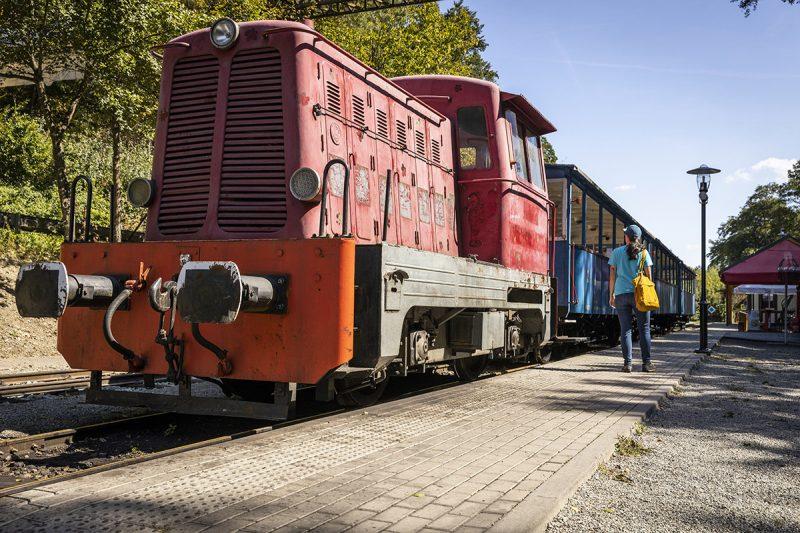 Takáto železnica sa zachovala iba v Košiciach. Foto: Miro Pochyba