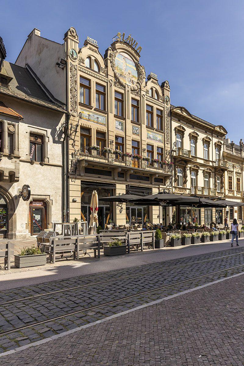 Nádhernéhistorické jadro Košíc je od roku1983 mestskou pamiatkovou rezerváciou. Foto: Miro Pochyba