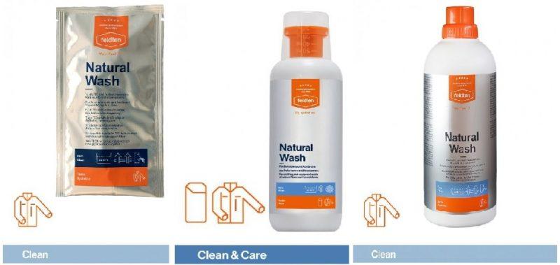 Prací prípravok na prírodný textil FELDTEN NATURAL WASH. Foto: ISIFA