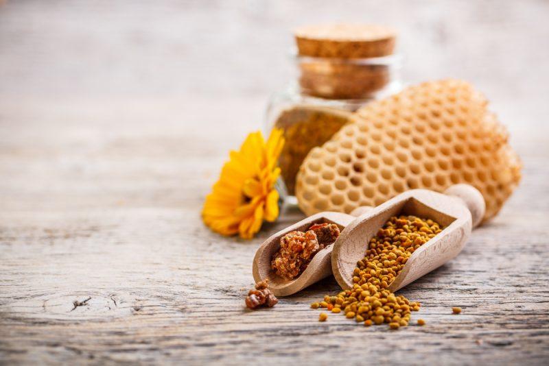 Včelí peľ. Foto: Shutterstock