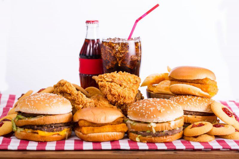Fast food. Foto: Shutterstock