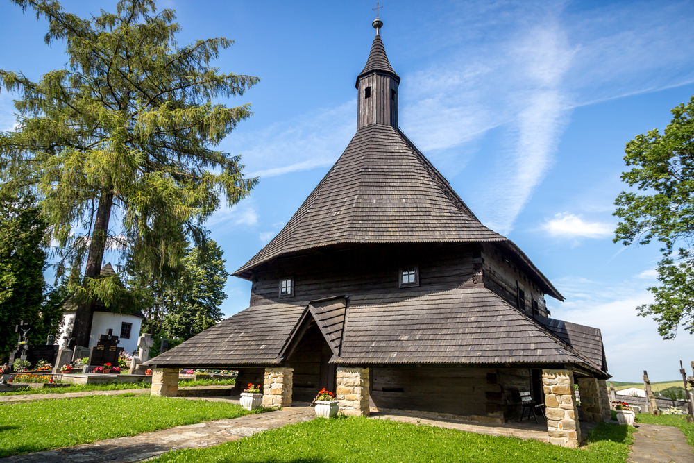 Drevené kostoly. Foto: Shutterstock