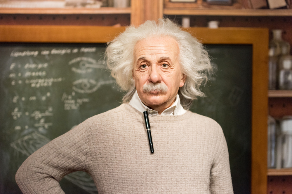Einstein. Foto: shutterstock