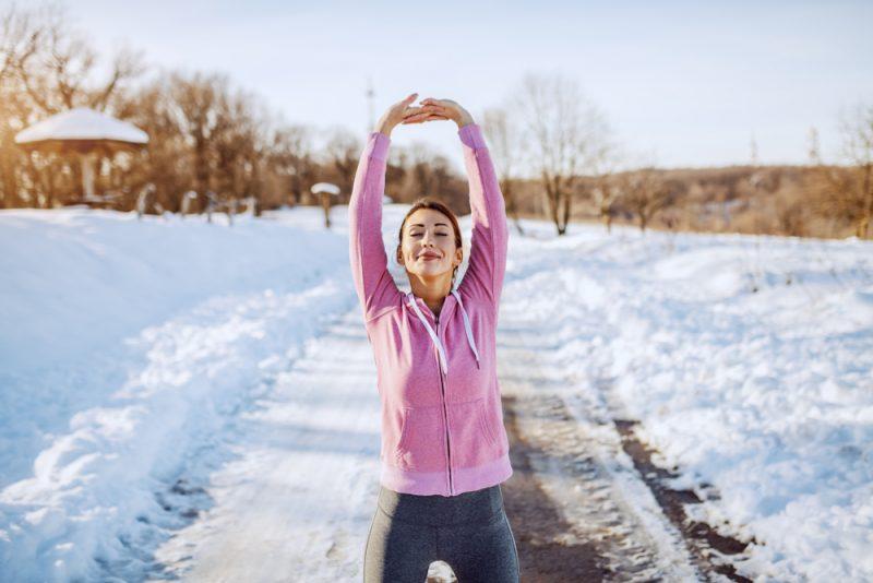 Na beh sa oblešte, akoby bolo o 20 stupňov teplejšie. Foto: Shutterstock