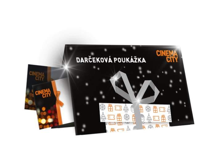 Darčeková poukážka Cinema City