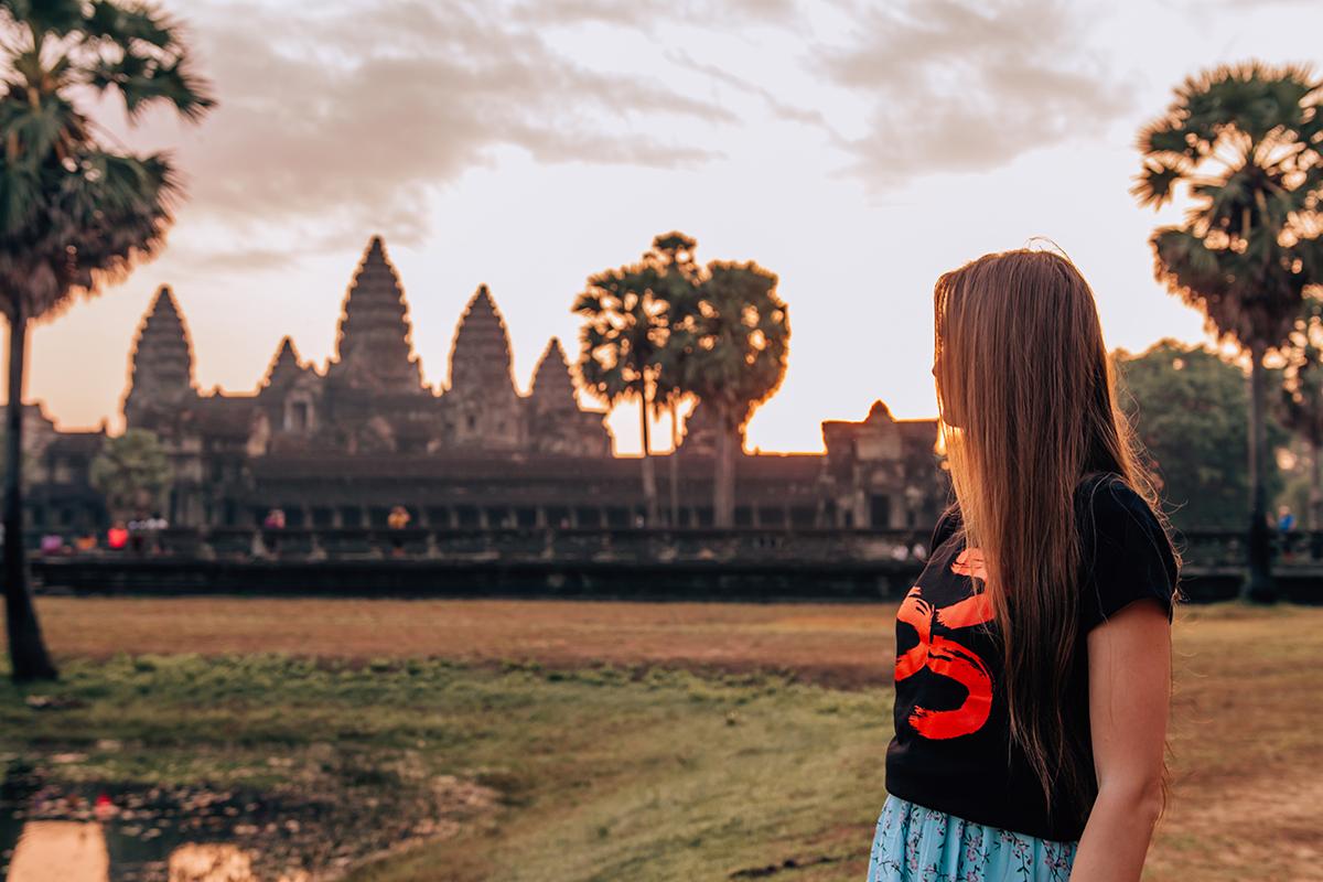 Kambodža. Foto: Zuzka Habeková