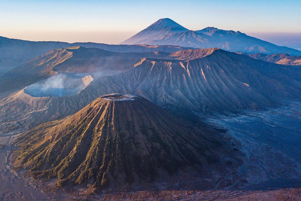 Sopka Bromo, Indonézia. Foto: Bubo
